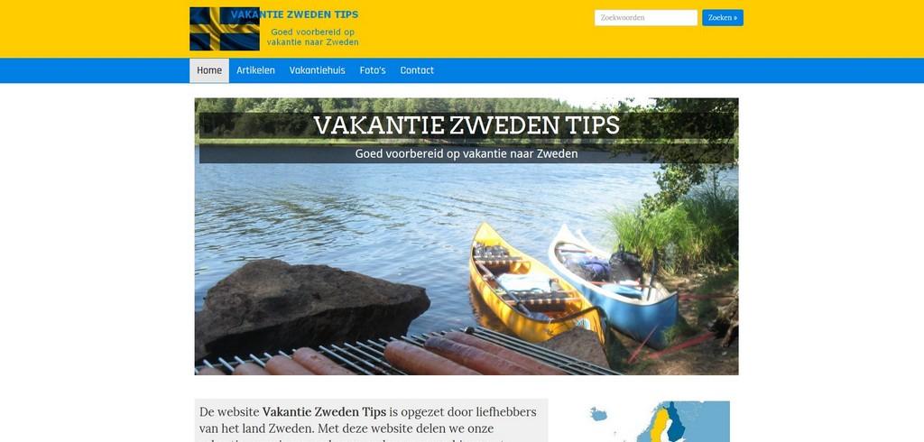 Vakantie Zweden Tips