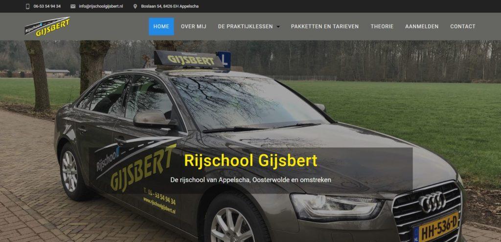 Rijschool Gijsbert