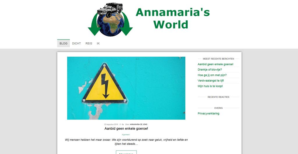 Annamaria's World